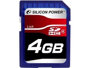 Silicon Power SDHC 4GB class 4
