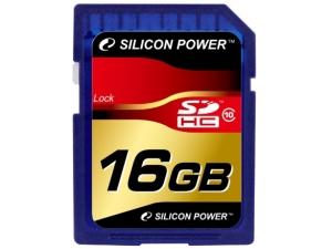 Silicon Power SDHC 16GB Class 10