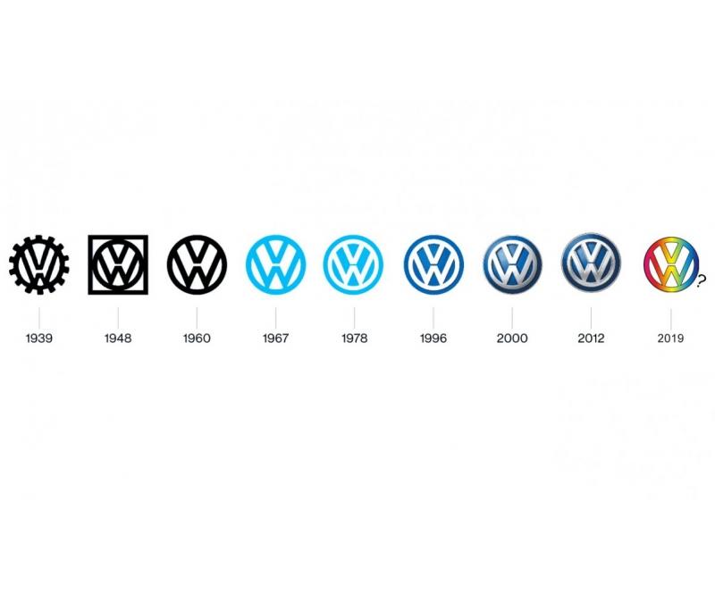 Volkswagen imajını yenilemek için logoyu değiştirecek!