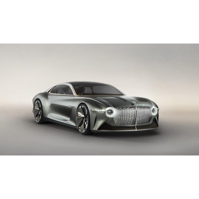 Lüks elektrikli arabası: Bentley!